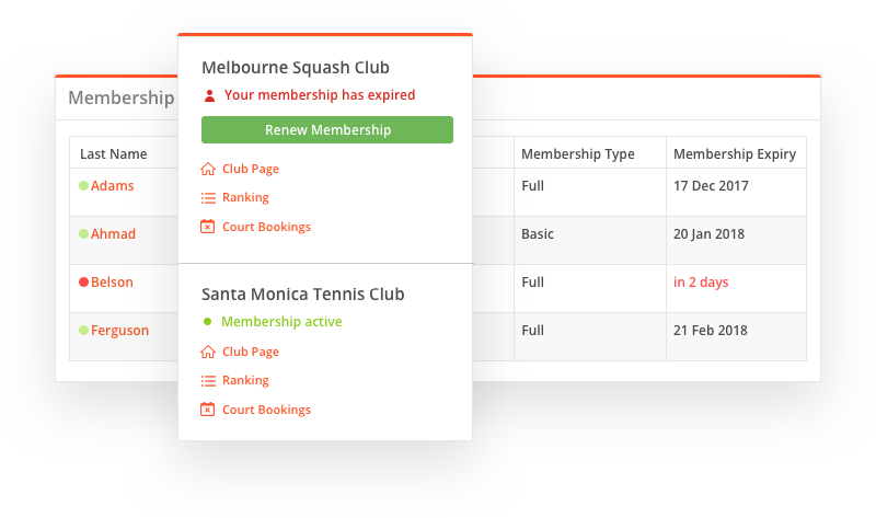 sportyHQ Put your membership payments on auto-pilot